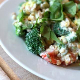 Fedtfattig broccolisalat