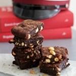 brownie med peanuts