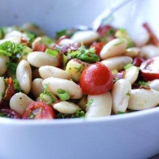 Marineret salat med ButterBeans