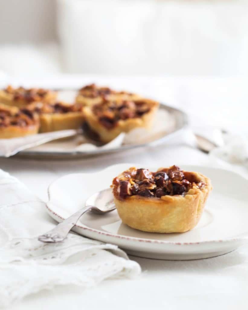 små æbletærter med karamel