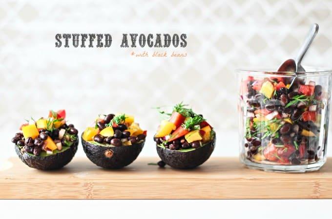 fyldte avocadoer