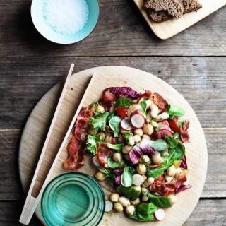 Kæk Kikærtesalat