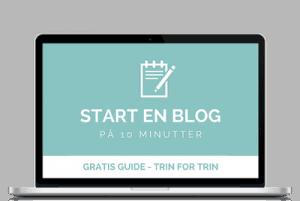 Start din egen blog