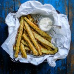 squash parmesan sticks - snack