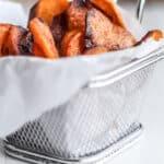 Hjemmelavede chips af søde kartofler - sweet potato chips - opskrift