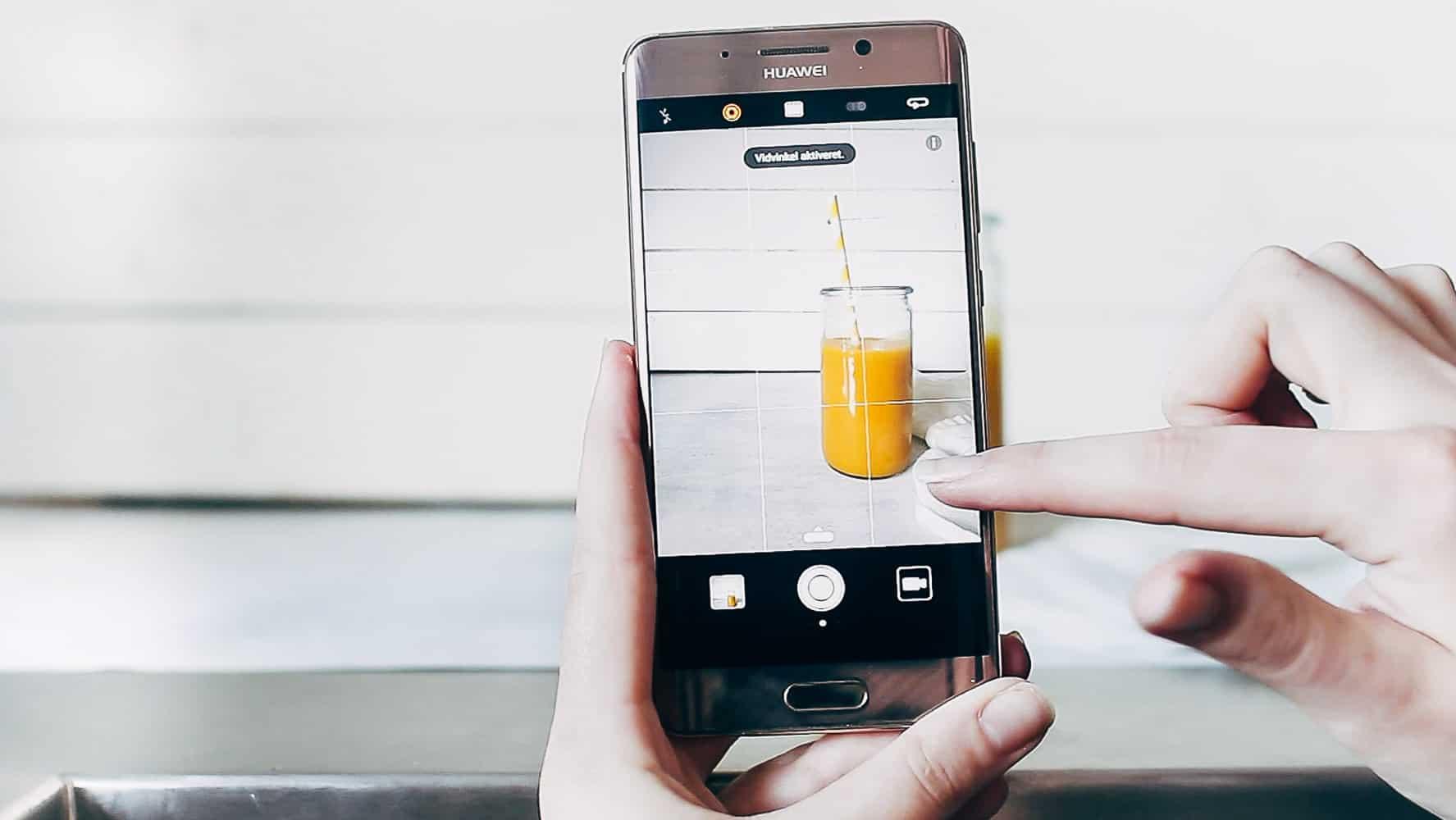 Huawei mate 9 pro - tag bedre madbilleder med smartphone