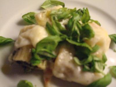 pasta-med-auberginepure