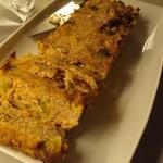 Rosenkålsfarsbrød med coleslaw og ovnbagte kartofler