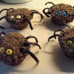Edderkop - cupcakes