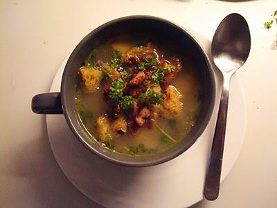 Toscansk bønnesuppe med kylling