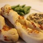 Grissinis med ost, salt, timian og oregano