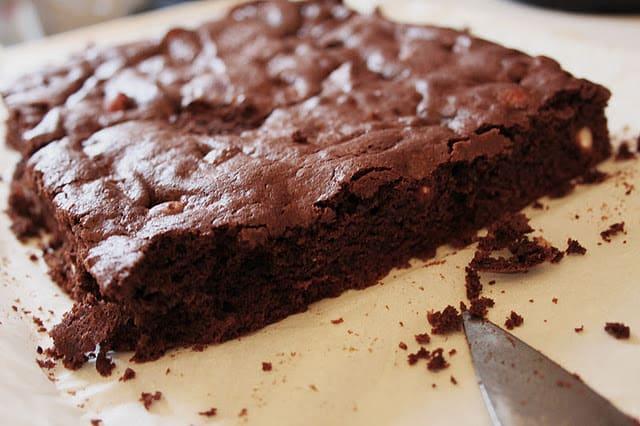 klassisk brownie
