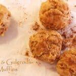 Sunde muffins med æble, gulerod og kanel
