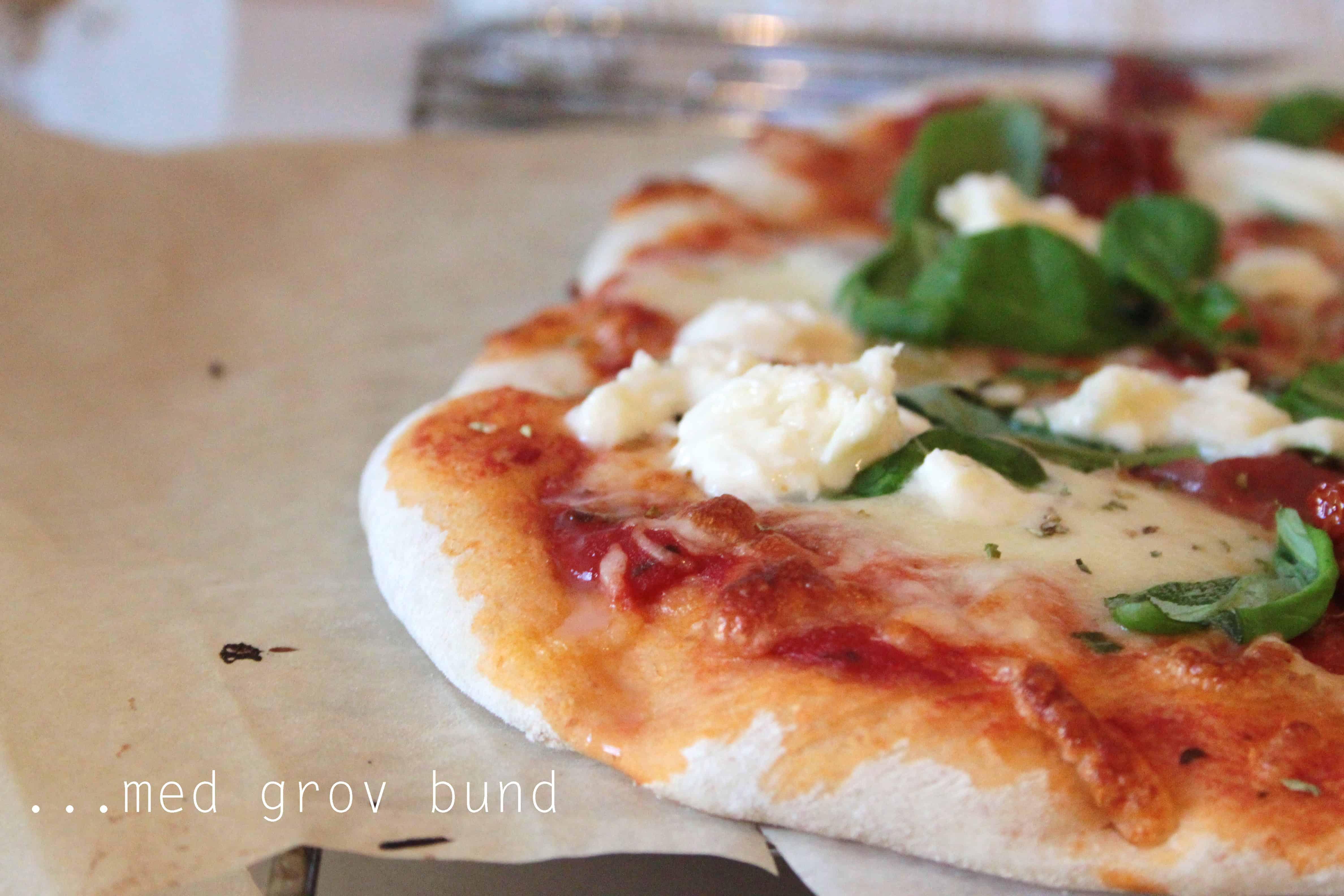 fuldkorns pizzadej opskrift