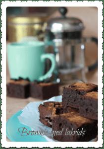 Brownies med lakrids