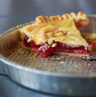cherry pie - opskrift på amerikansk kirsebærtærte