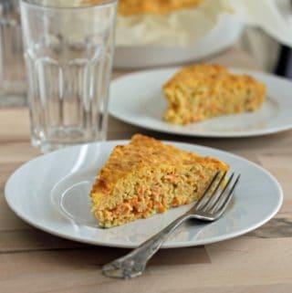 gulerodstærte - lækker vegetar postej