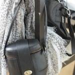 Kamerataske i læder