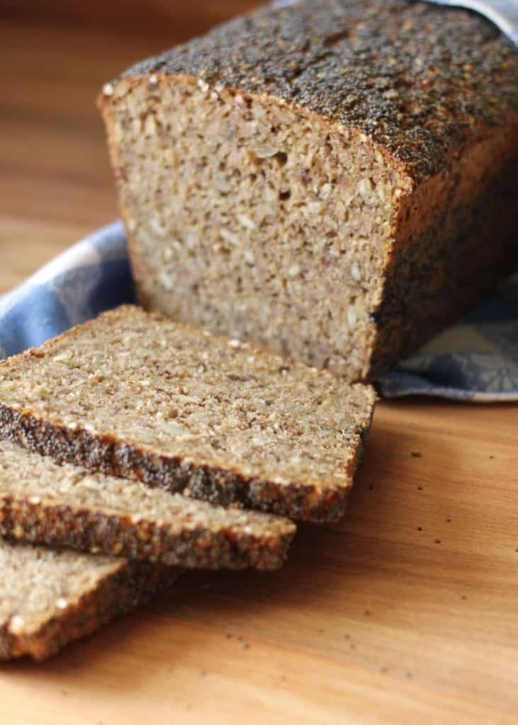 Rugbrød med kerner - rugbrød uden surdej