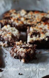 Brownies med kokos