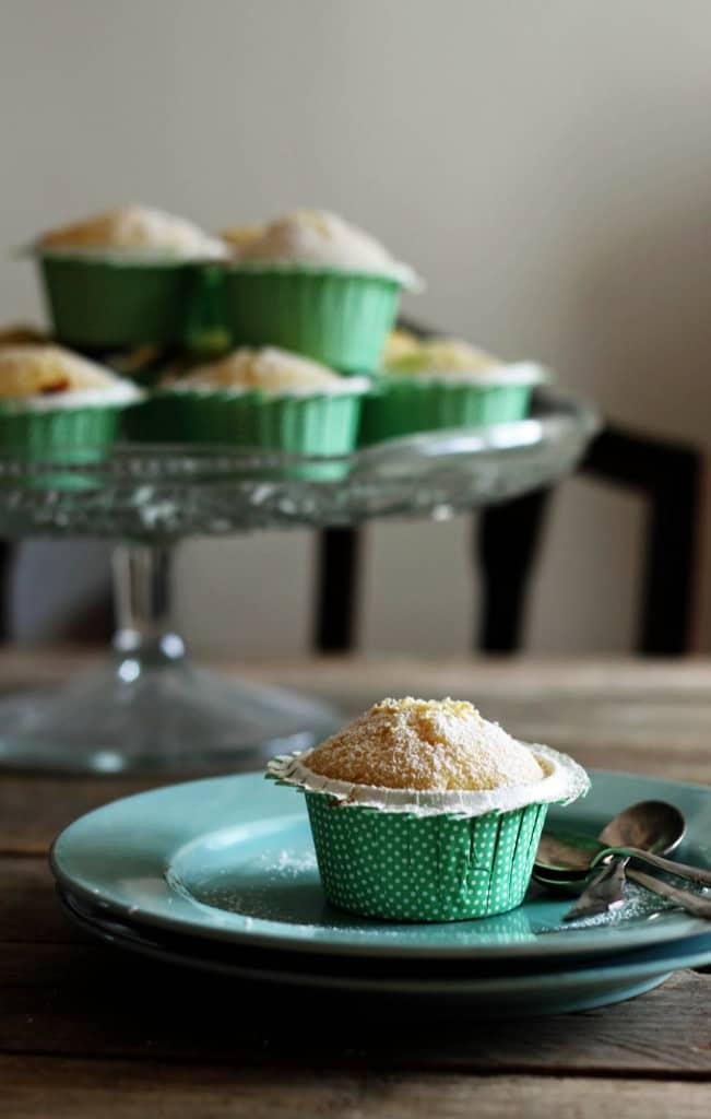 Citronmuffins med marcipan