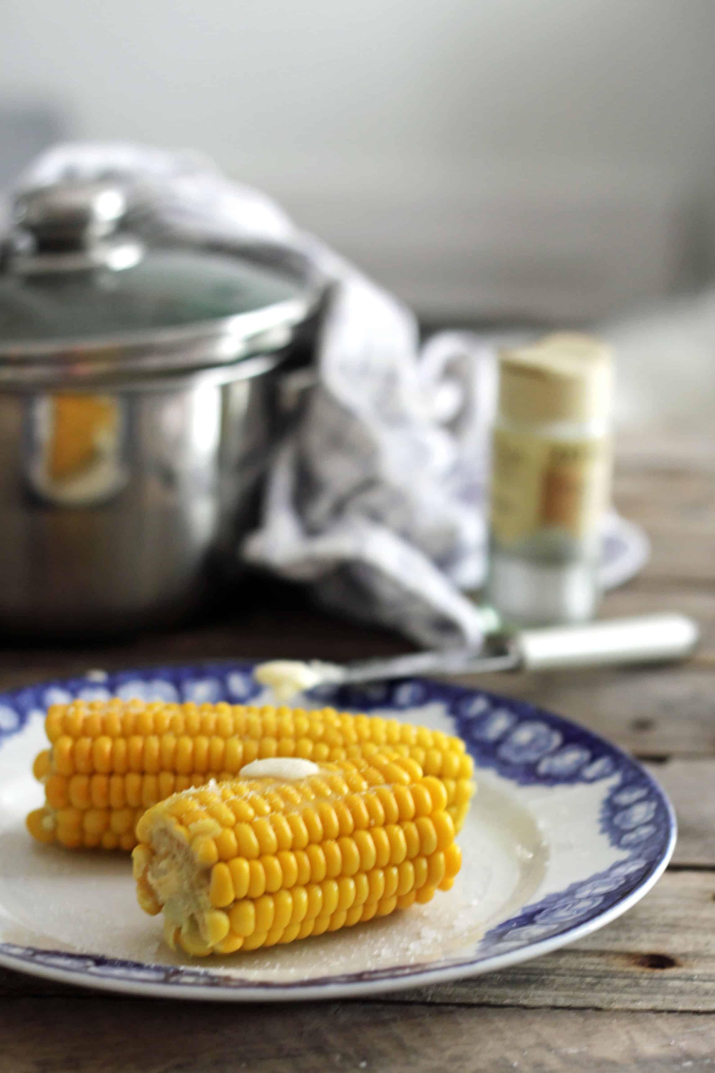 kogning af majs