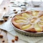 Pæretærte med marcipan og mandelmel – den bedste efterårskage