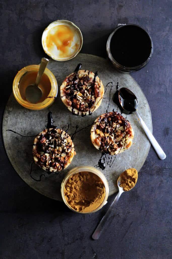 Æblekager med lakrids og marcipan