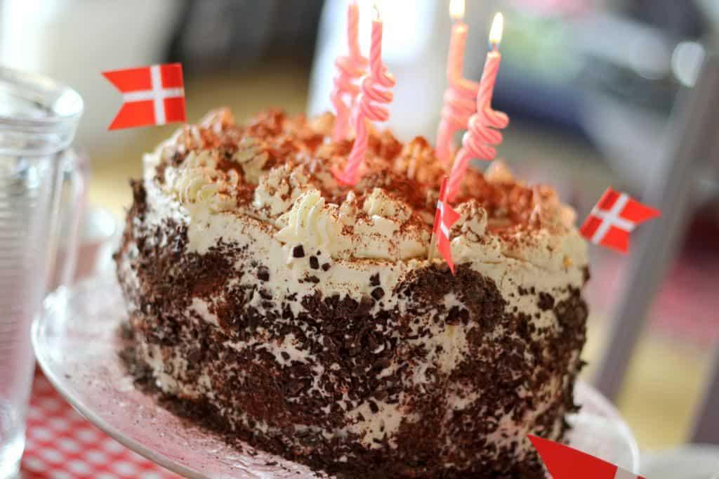 Lagkage til fødselsdag