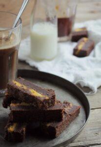Brownie med græskar