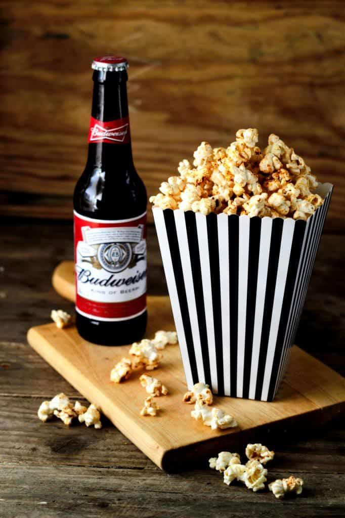 Krydret popcorn
