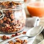 Honningristet nødde-mysli med gojibær