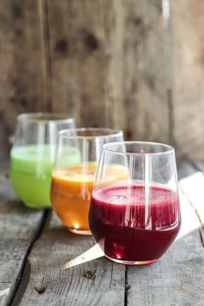 Hjemmelavet juice