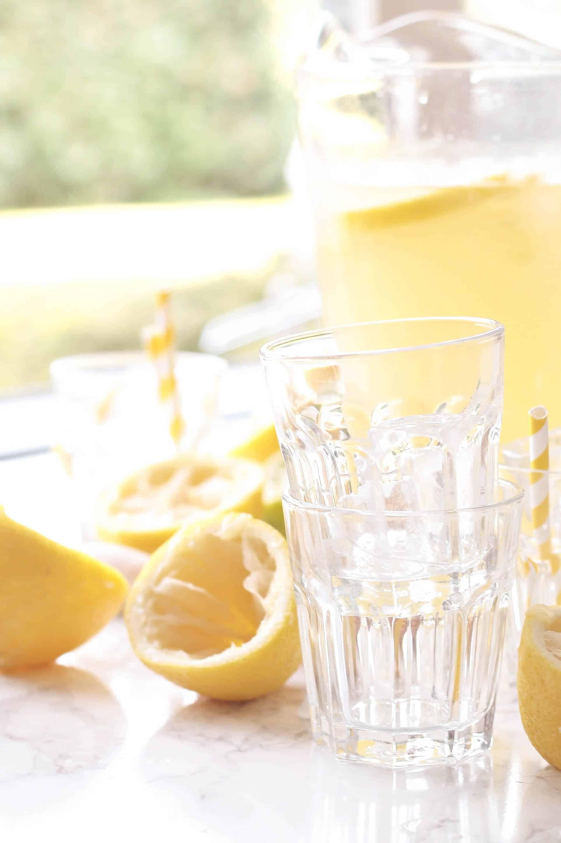 Hjemmelavet Lemonade