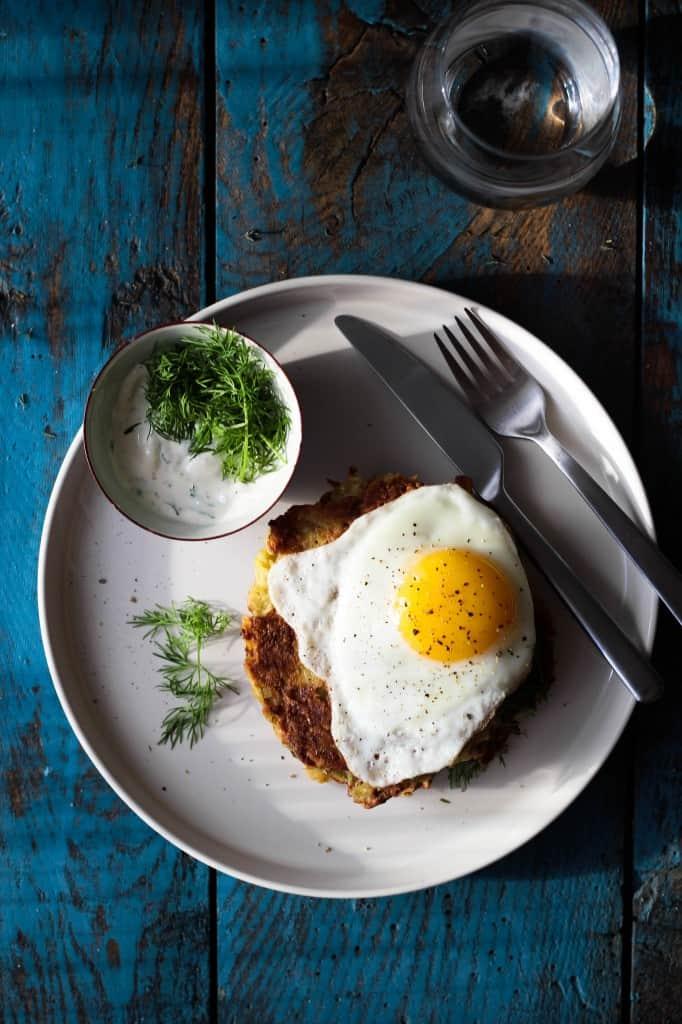 rösti - kartoffelpandekager - hashbrowns