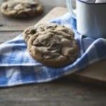 chokolade cookies opskrift