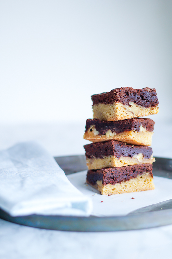congo bar - brownie cookies