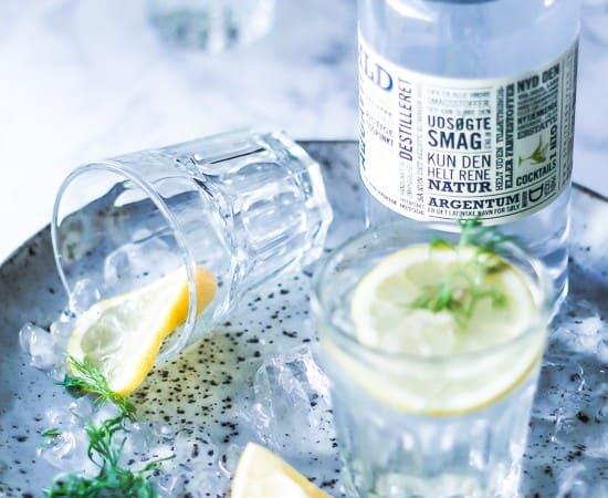 drinks og cocktails med Aquavit