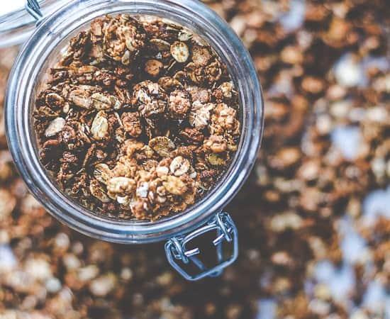 peanutbutter granola - mysli opskrift