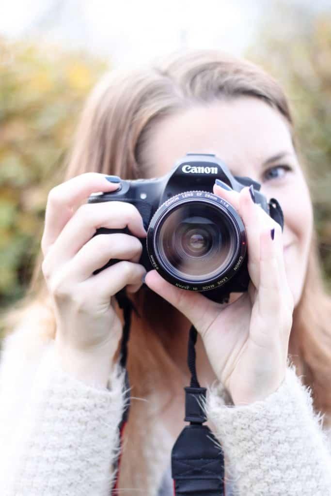 online fotokursus - spejlreflekskamera