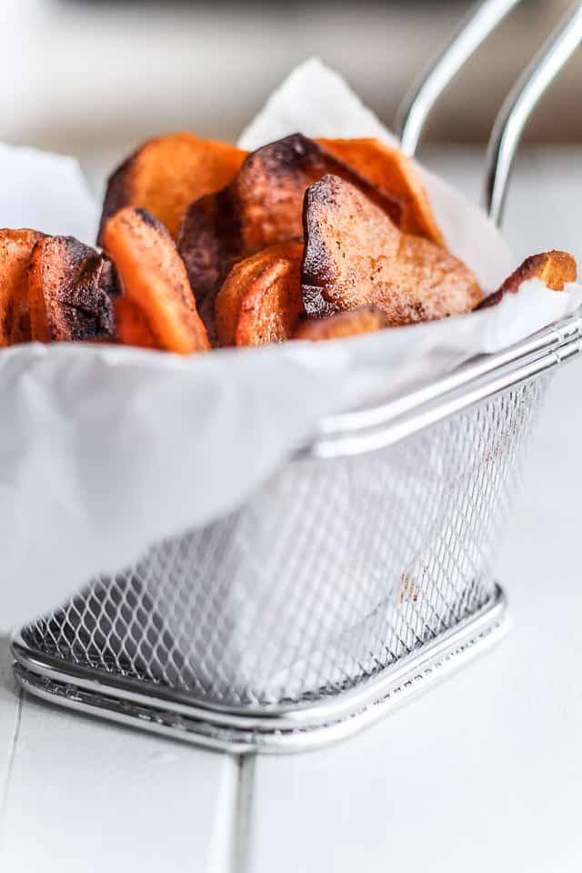 Hjemmelavede Chips Af Sød Kartoffel Ranch Dip Opskrift