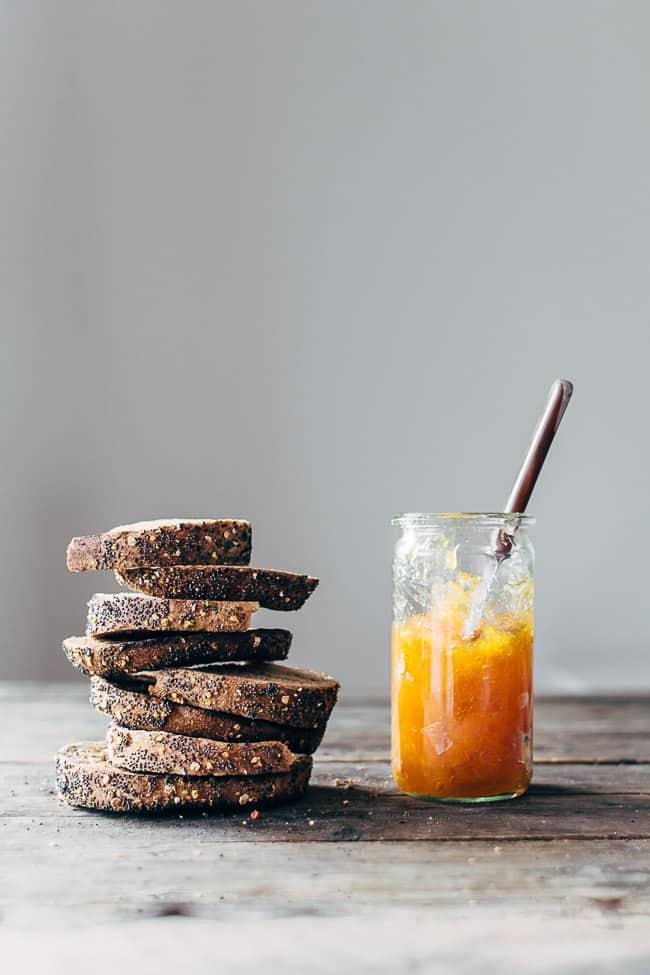 Marmelade med abrikoser
