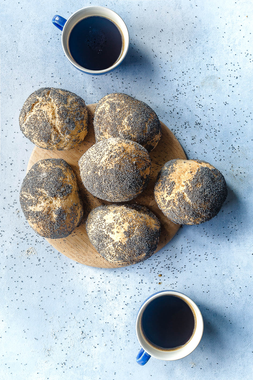 Rundstykker_brød og boller med birkes_bagning