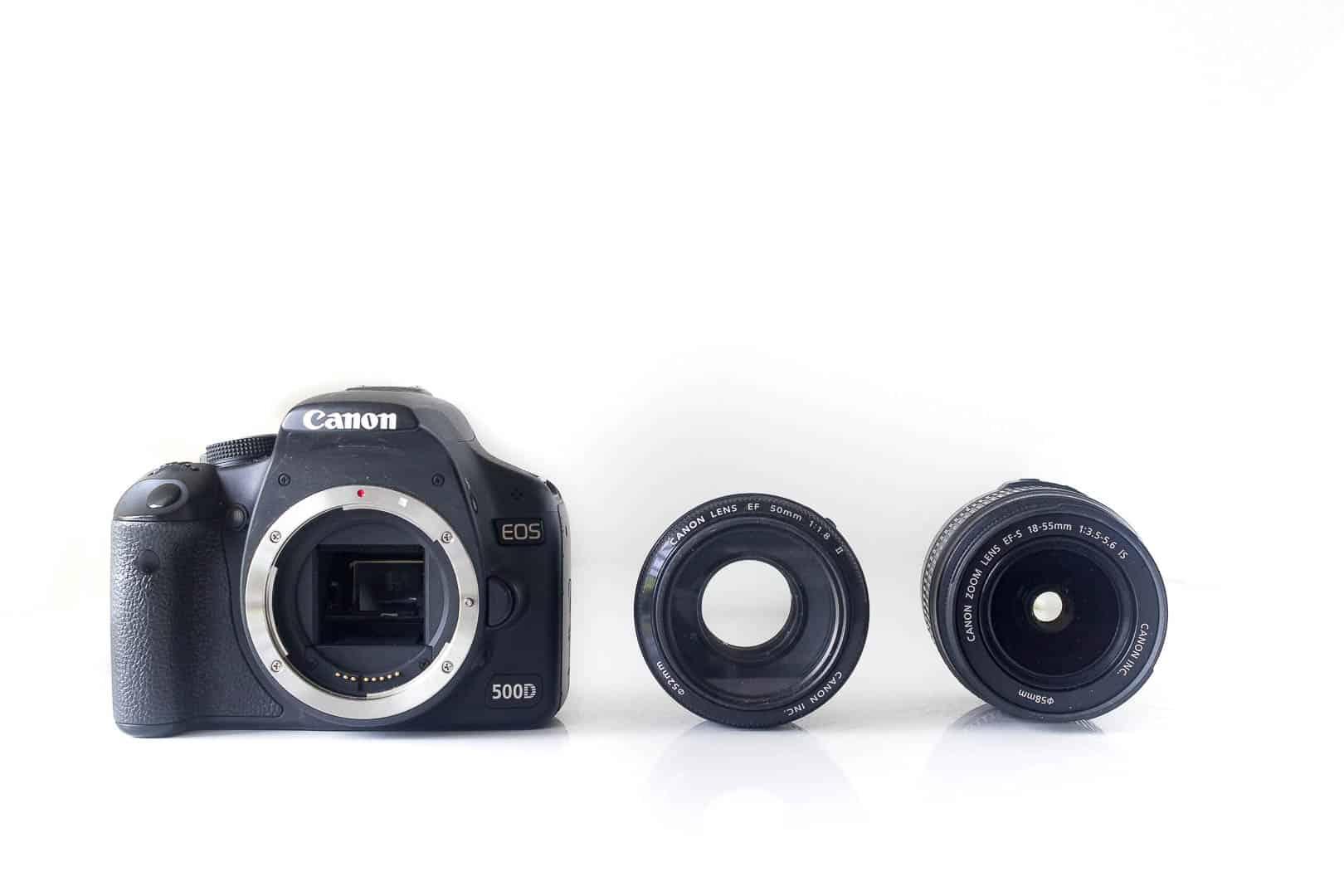 canon kamera og objektiver - 50 mm objektiv