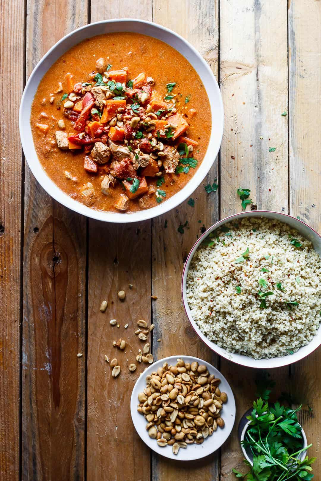 afrikansk mad - gryderet