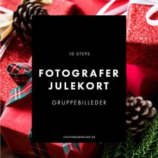 Gruppebilleder - Fotografer bedre billeder til julekort