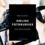 Online fotokursus for begyndere