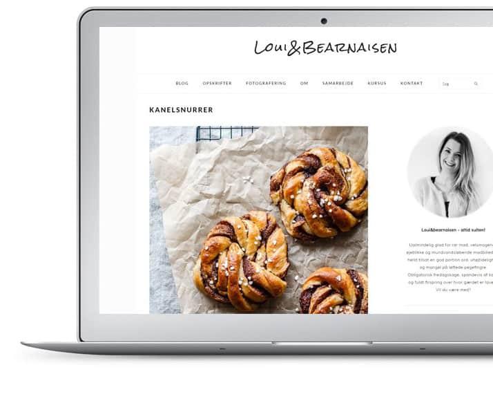 Lav en blog - madblog