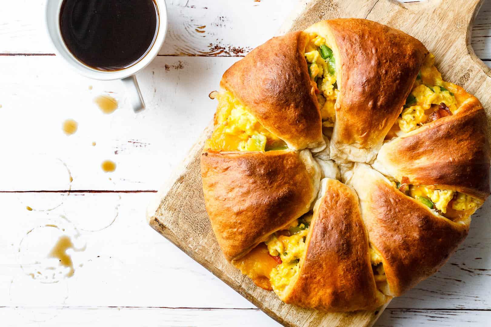 brunch og morgenmad - opskrift med æg og bacon