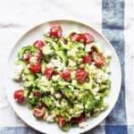 græsk salat - opskrift på salat med agurk